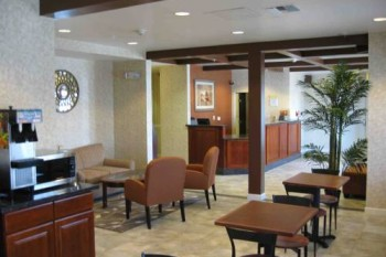 Days Inn San Francisco International Airport West snack bar lobby