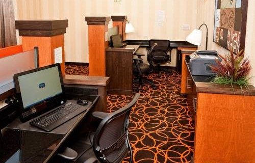 Fairfield Inn & Suites By Marriott SFO Airport  business center