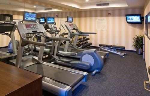 Fairfield Inn & Suites By Marriott SFO Airport fitness