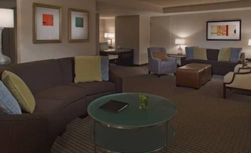 Hyatt Regency San Francisco Airport suite