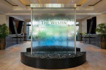 Westin San Francisco Airport lobby